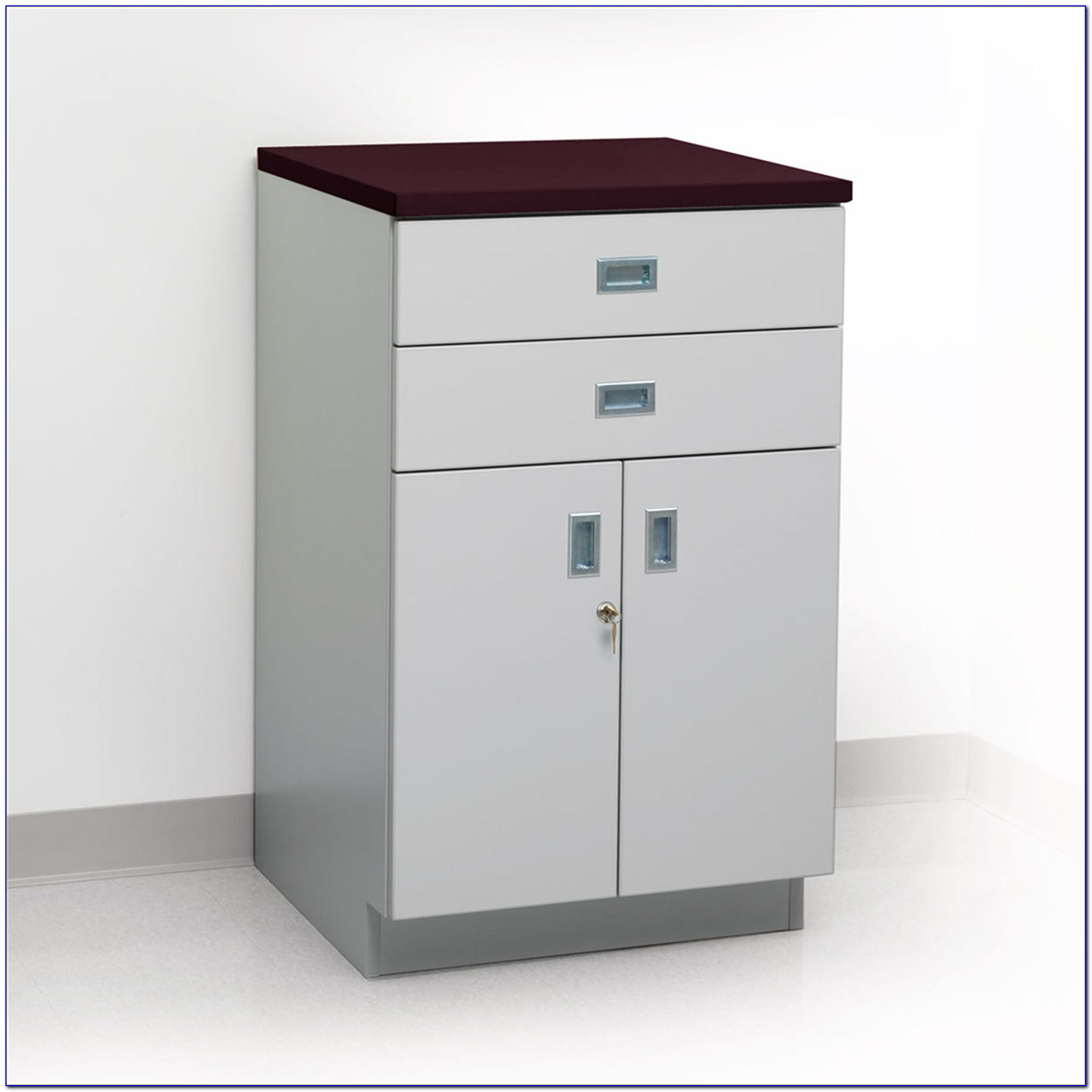 Floor Cabinet With Drawers And Shelves