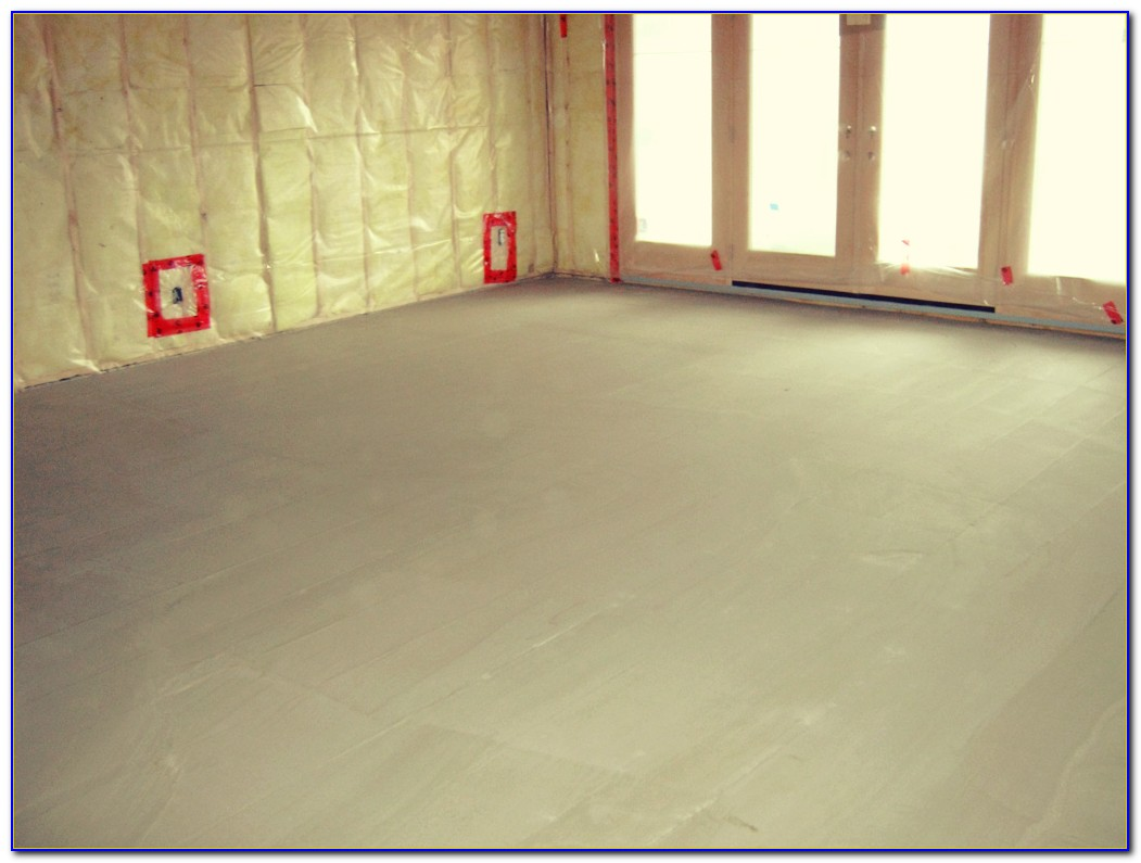 Floor Leveling Compound Over Painted Concrete
