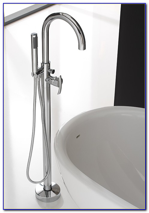 Floor Mounted Tub Filler Oil Rubbed Bronze