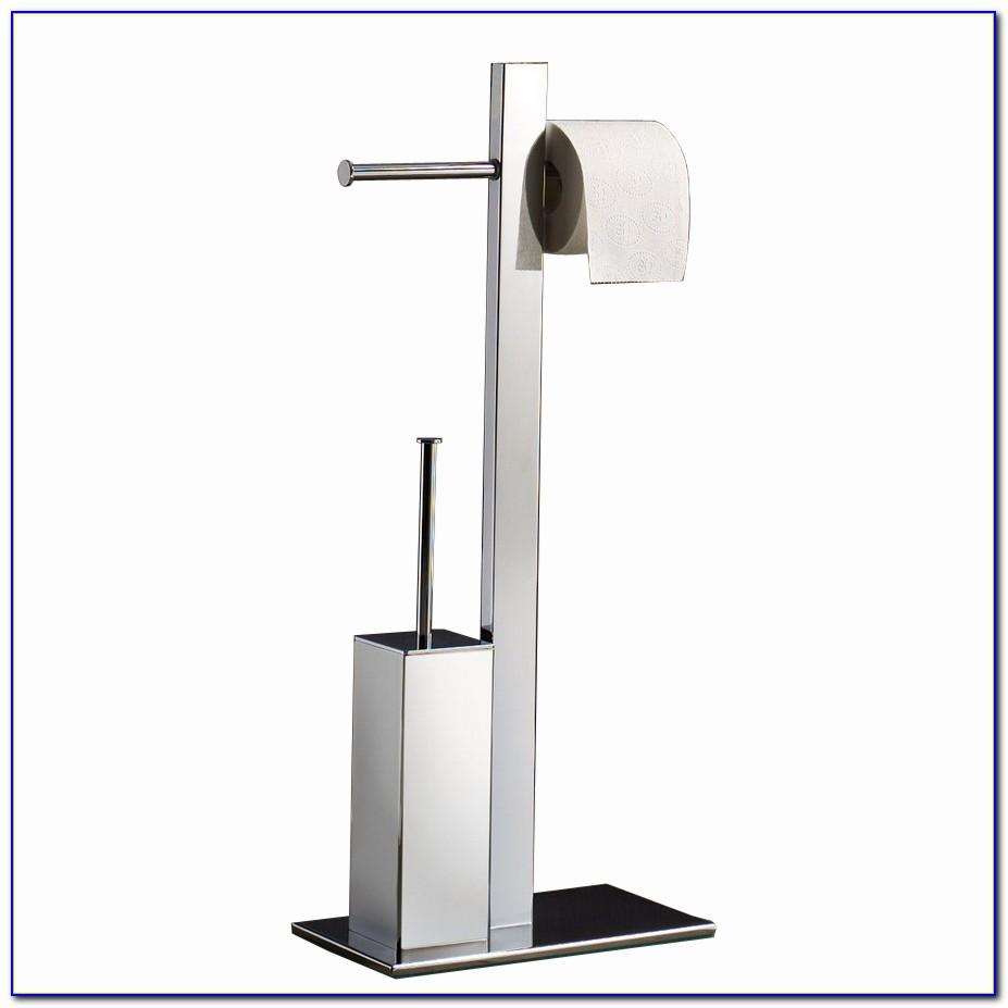 Floor Toilet Paper Dispenser