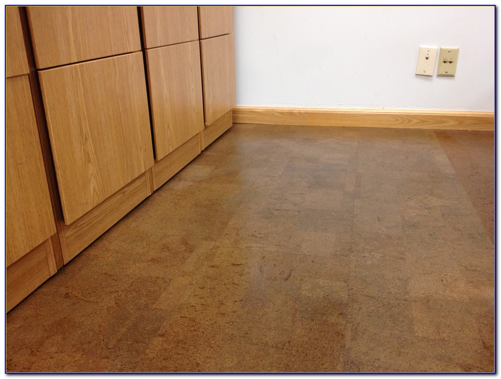 Glue Down Cork Flooring Installation