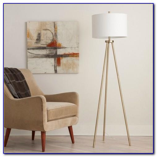 Gold Tripod Floor Lamp Target