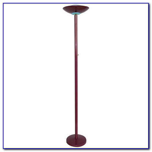 Halogen Torchiere Floor Lamp With Dimmer