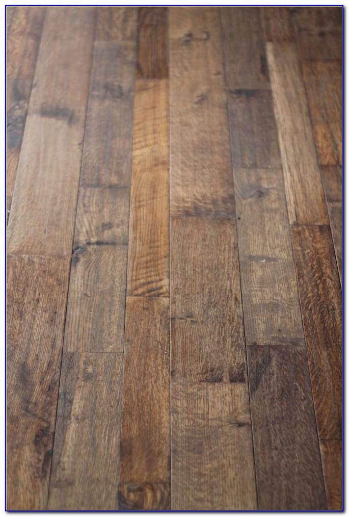 Hand Scraped Wood Flooring Care