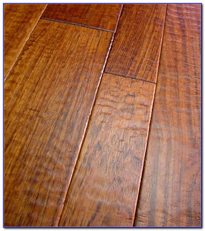 Hand Scraped Wood Flooring Durability