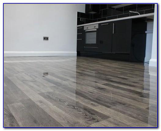 High Gloss Laminate Flooring Grey