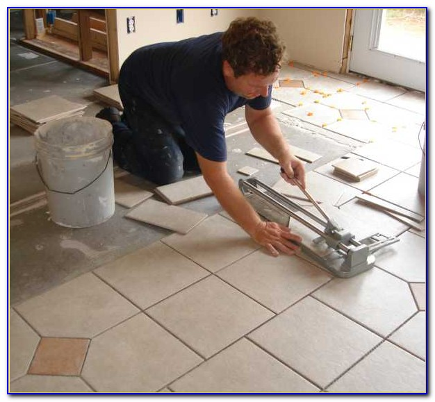 Installing Ceramic Floor Tile Over Existing Tile
