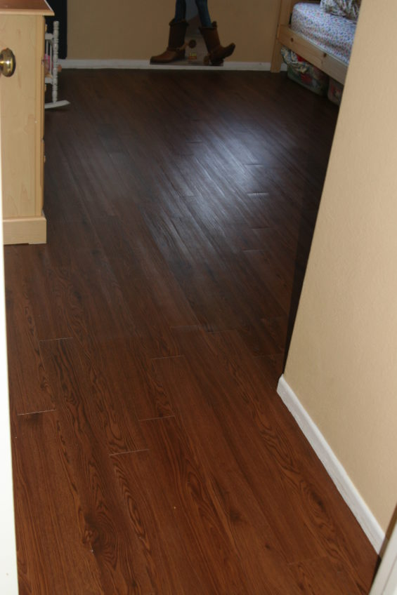 Installing Vinyl Peel And Stick Plank Flooring
