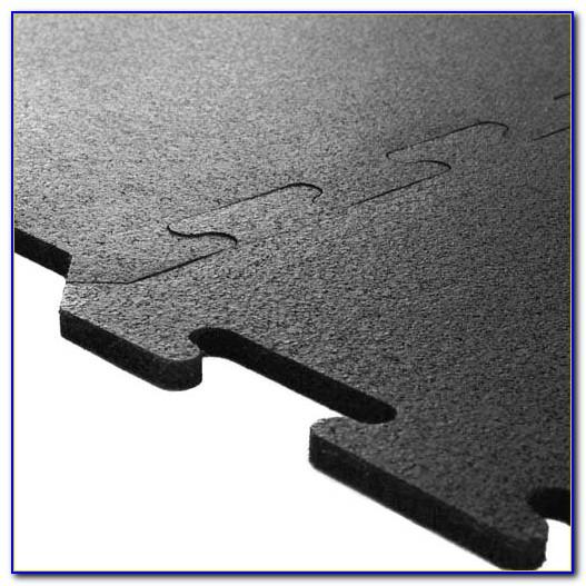 Interlocking Rubber Floor Tiles Kitchen