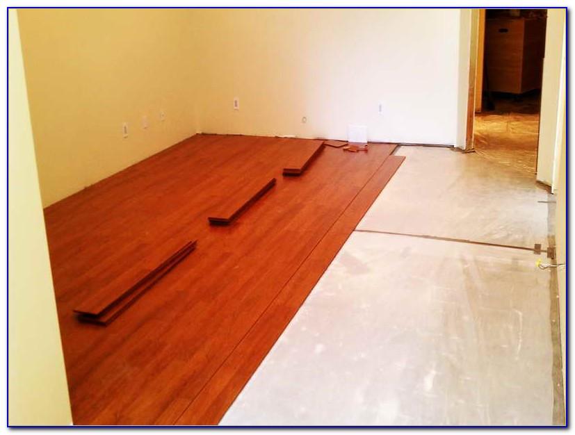Laminate Flooring In Basement Bathroom