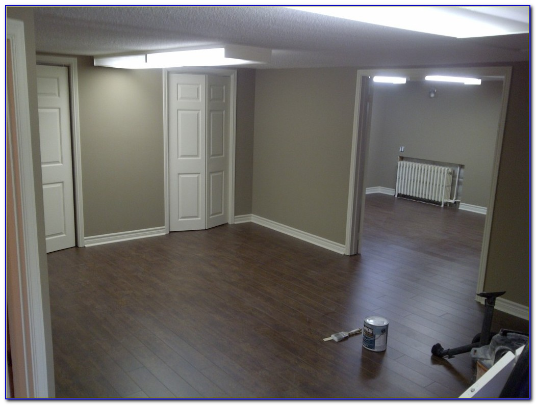 Laminate Flooring In Basement Underlayment