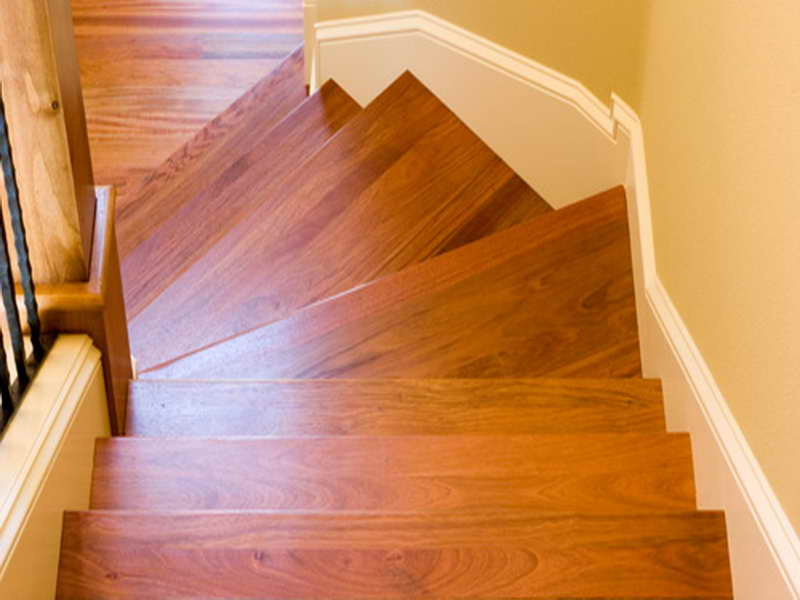 Laminate Flooring On Stairs With Overhang