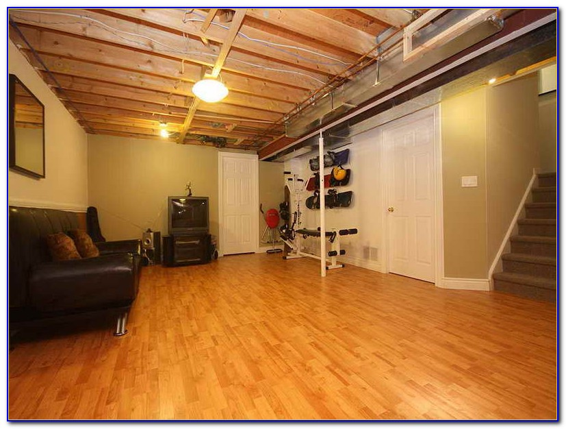 Laminate Flooring Underlayment For Basement