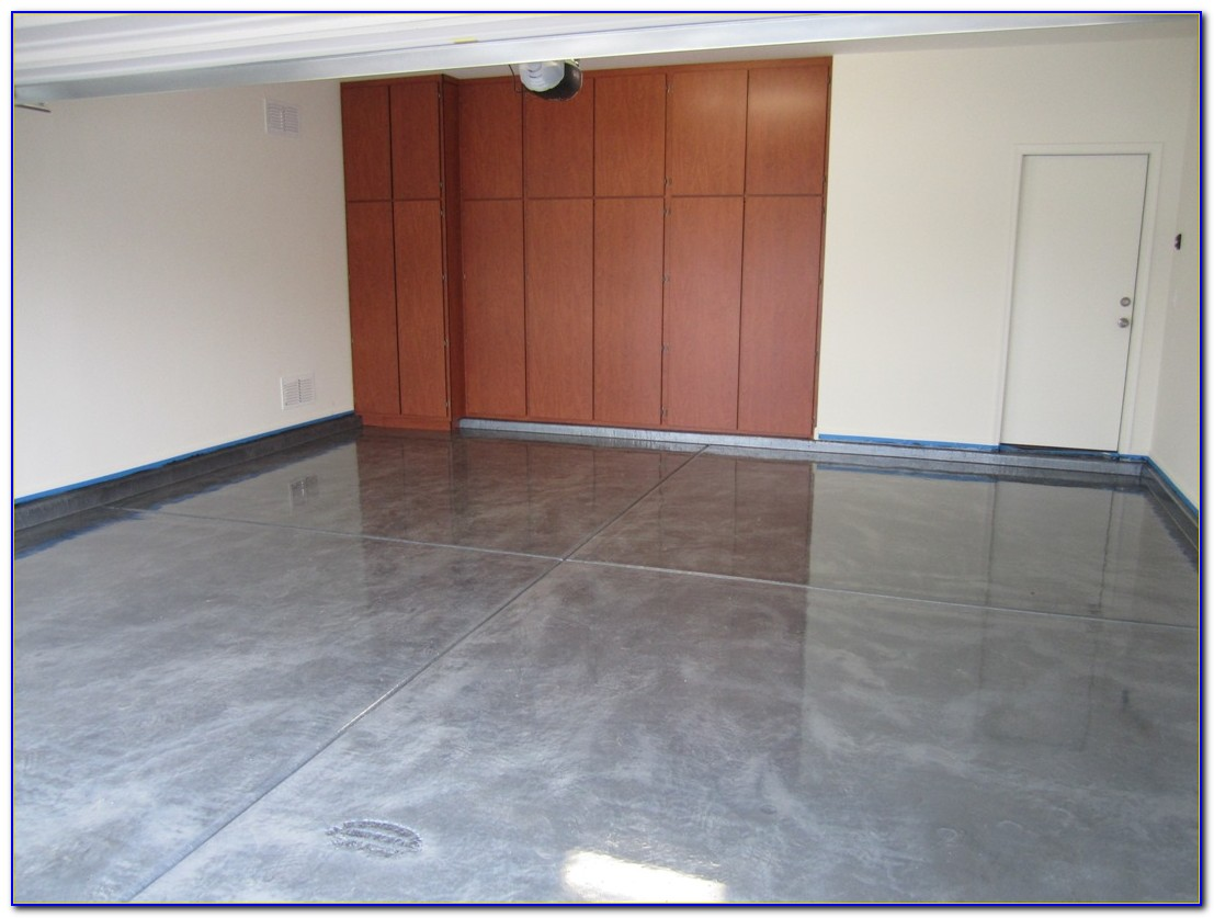 Metallic Epoxy Garage Floor Diy