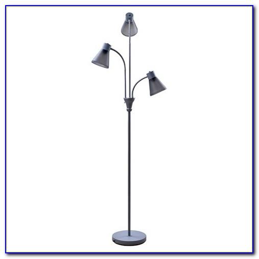 Multi Head Floor Lamp Bronze