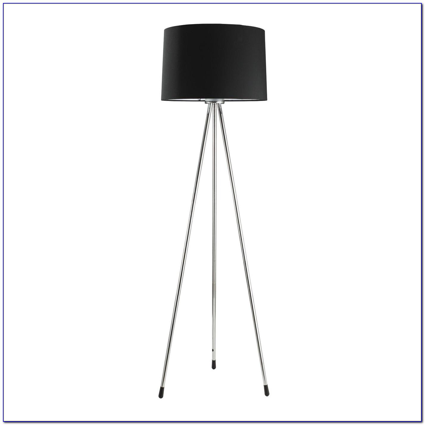 Ore International Polished Floor Lamp