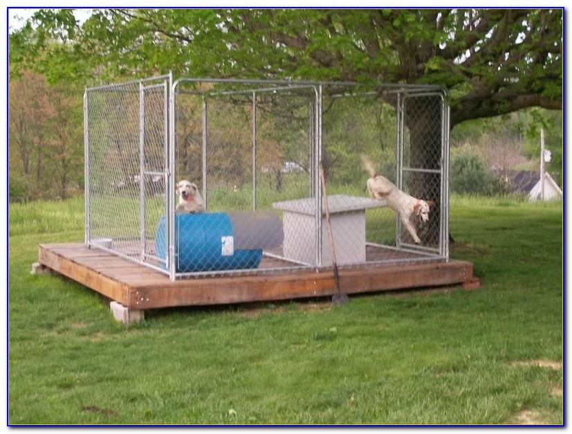 Outdoor Dog Kennel Flooring And Platforms
