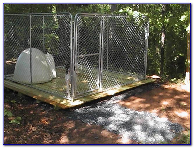 Outdoor Dog Kennel Flooring Options