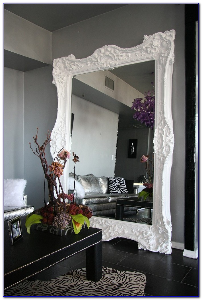 Oversized Leaner Floor Mirror