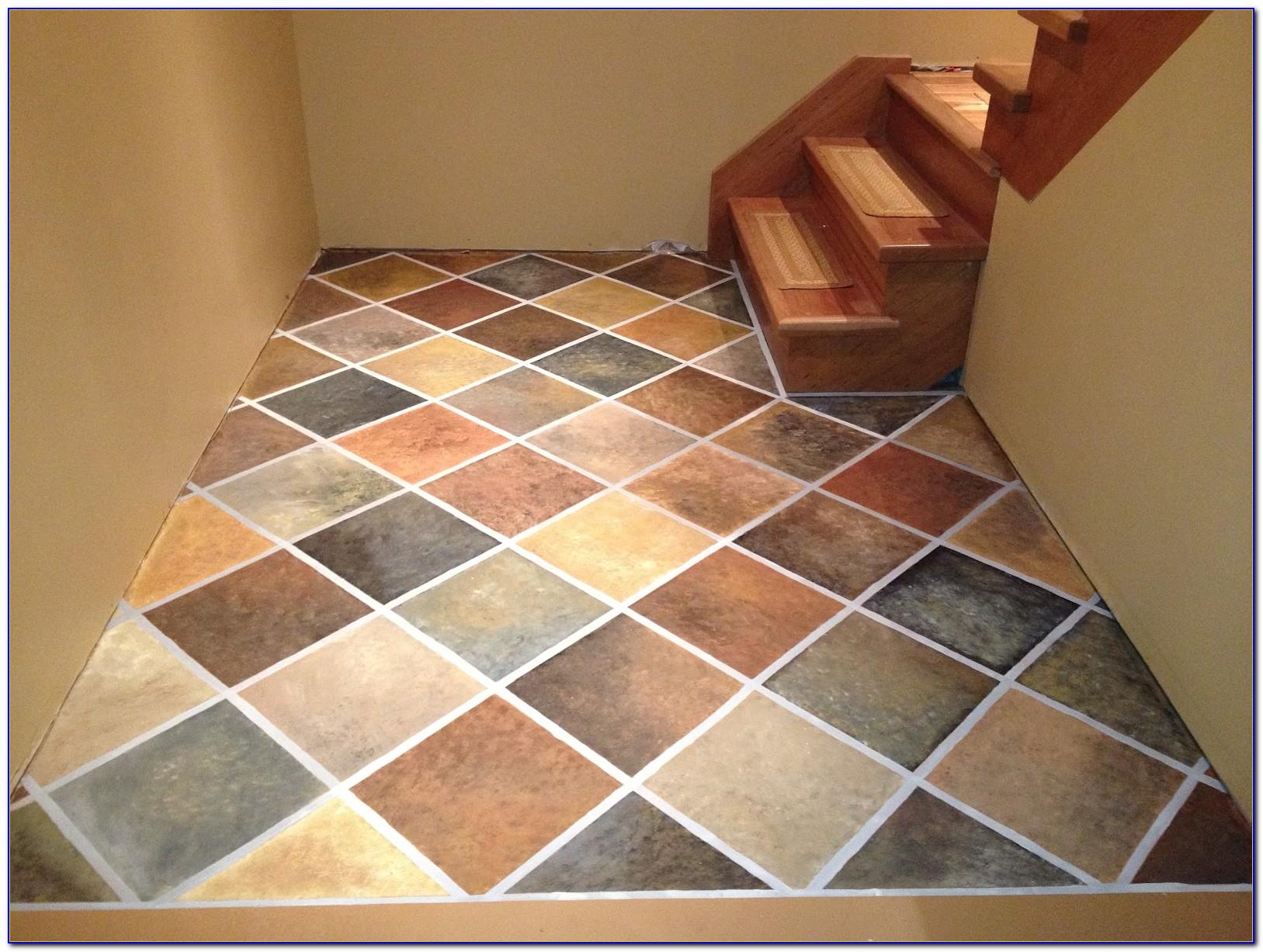 Paint Ceramic Tile Floor To Look Like Wood