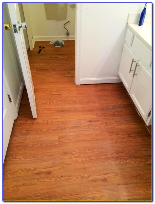 Peel And Stick Laminate Floor Planks