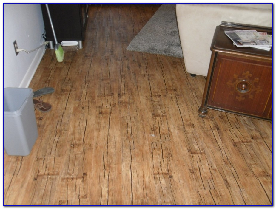 Peel & Stick Vinyl Hardwood Floor Planks