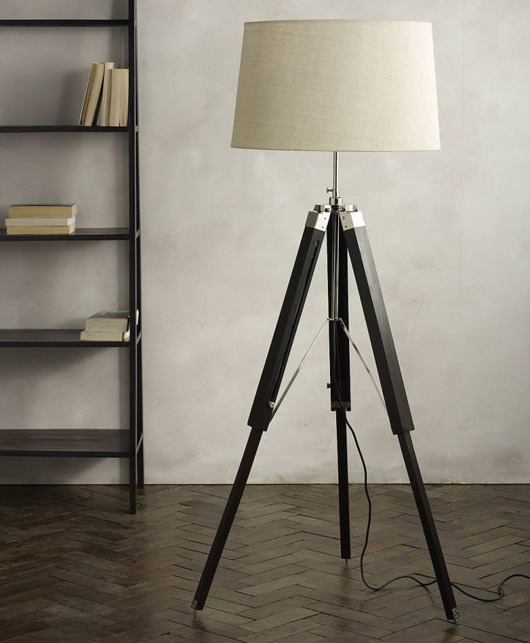 Photographer's Tripod Floor Lamp Ebay