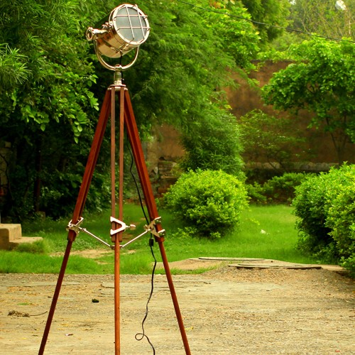 Photographer's Tripod Floor Lamp Pottery Barn