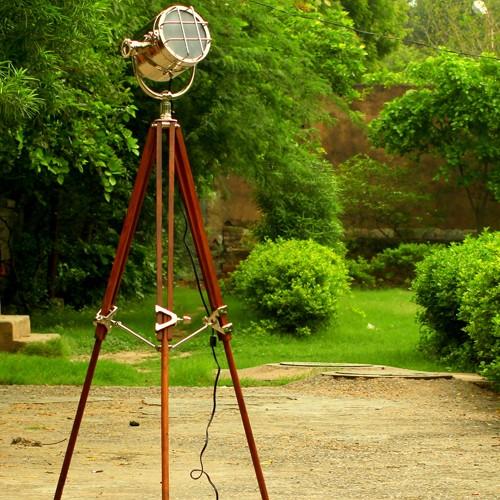 Photographer's Tripod Floor Lamp Pottery Barn