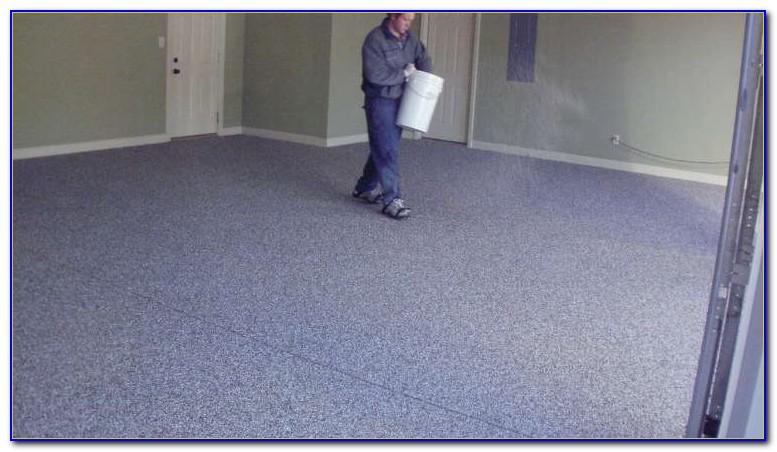 Quikrete Tan Epoxy Garage Floor Coating