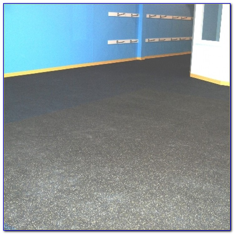 Rubber Flooring Options For Basements