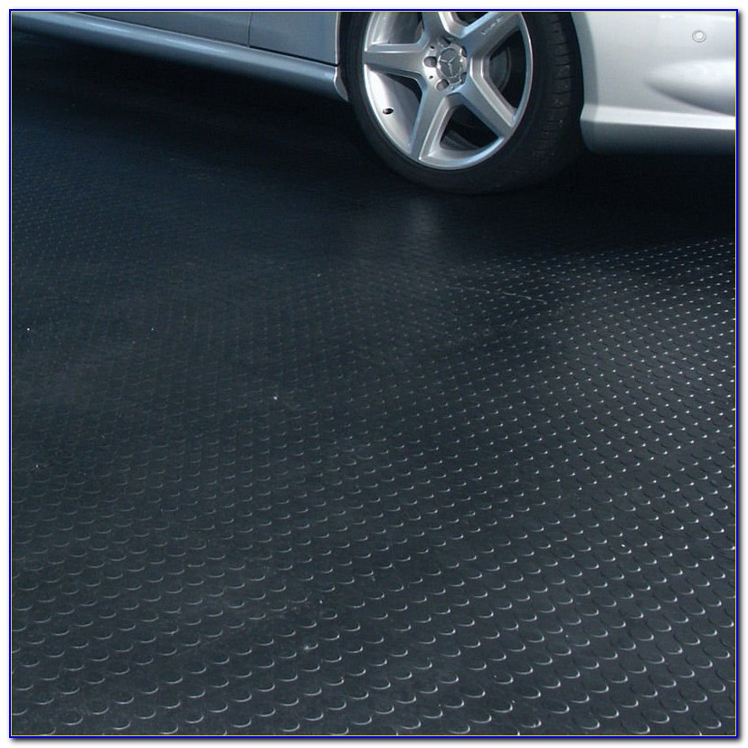Rubber Garage Floor Containment Mats