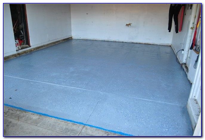 Rustoleum Garage Floor Coating Kit Video