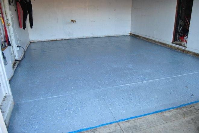 Rustoleum Garage Floor Paint Rock Solid