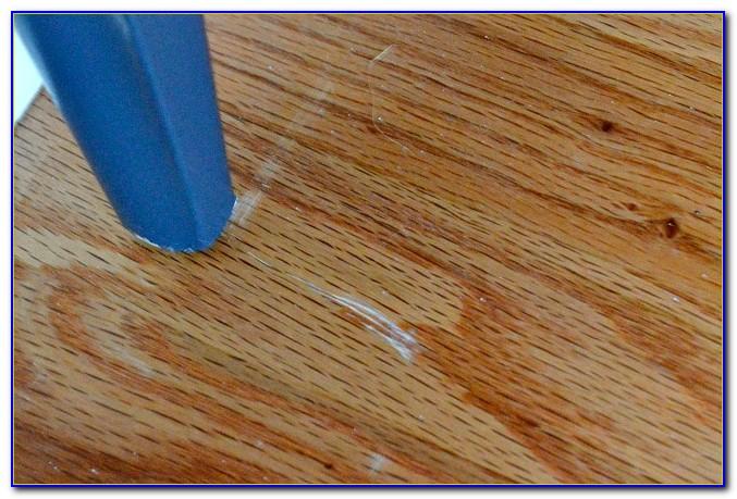 Scratches On Dark Hardwood Floors