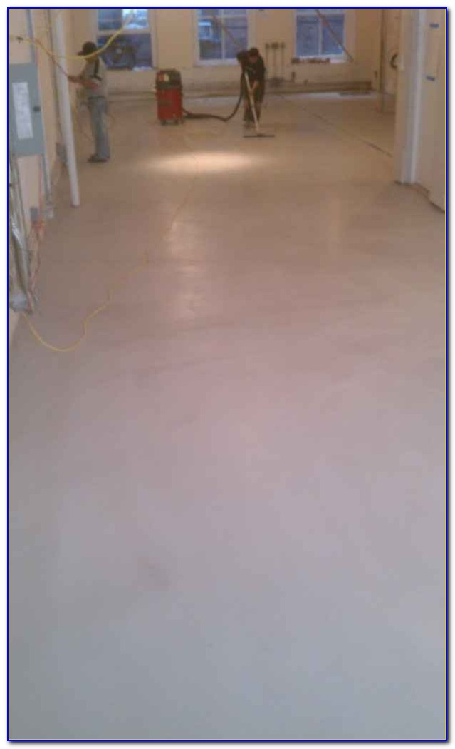 Self Leveling Concrete Floor Diy