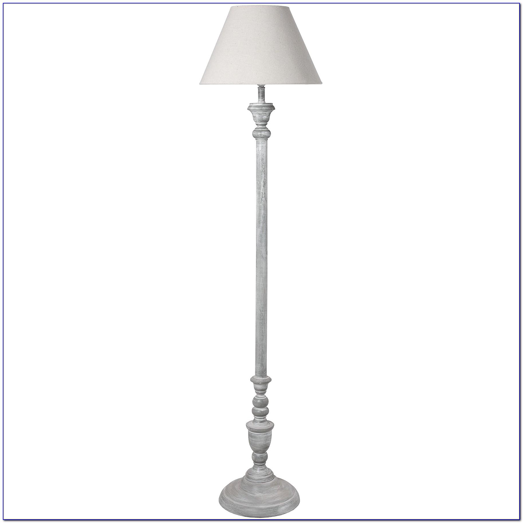 Shabby Chic Floor Lamp Stand