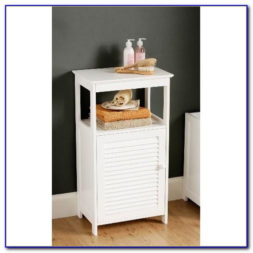 Small Corner Bathroom Floor Cabinet