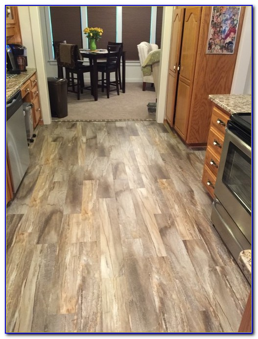 Snap Together Vinyl Flooring Installation