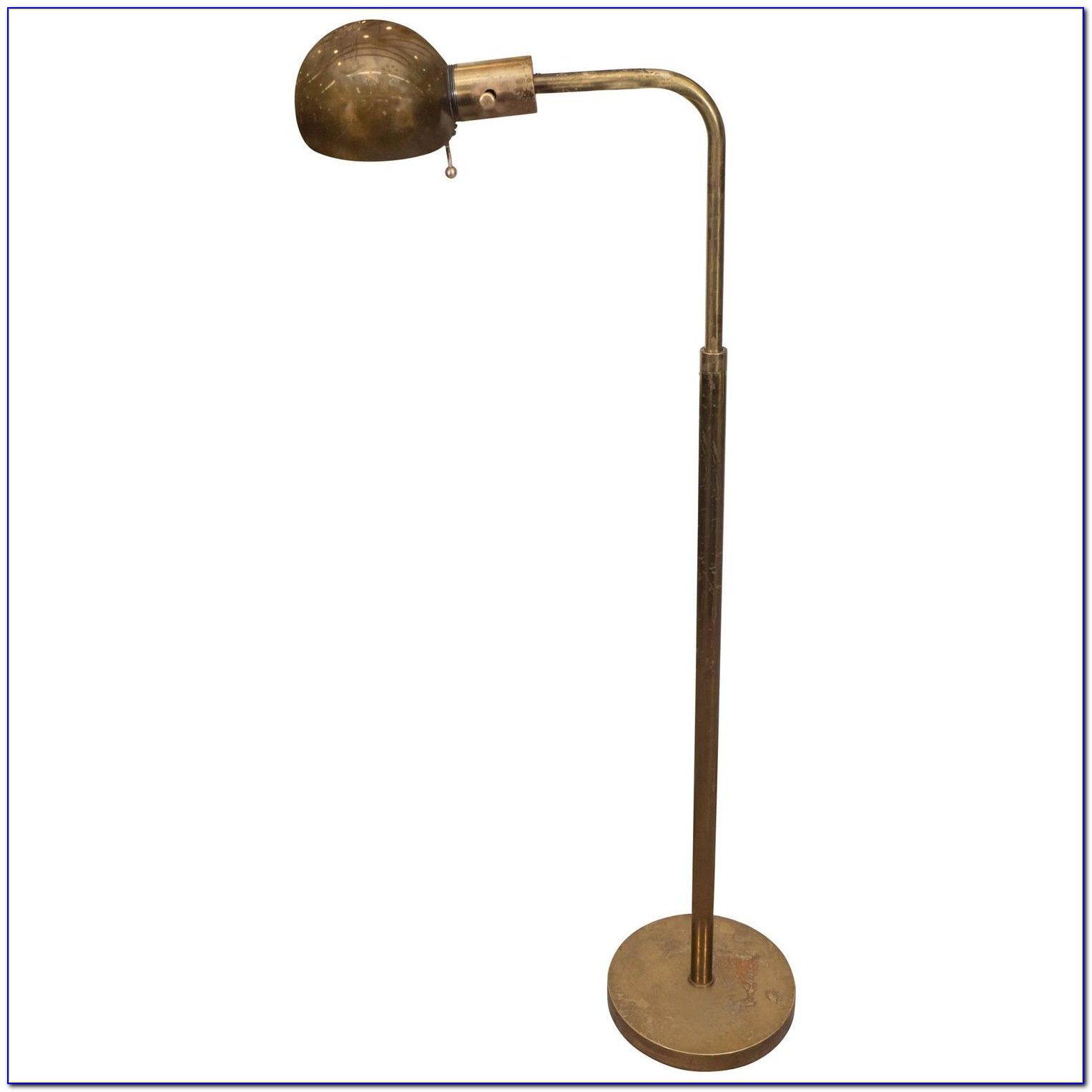 Solid Brass Pharmacy Floor Lamp
