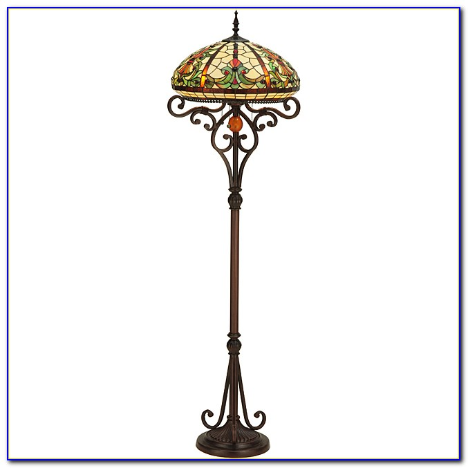 Stained Glass Floor Lamp Kit