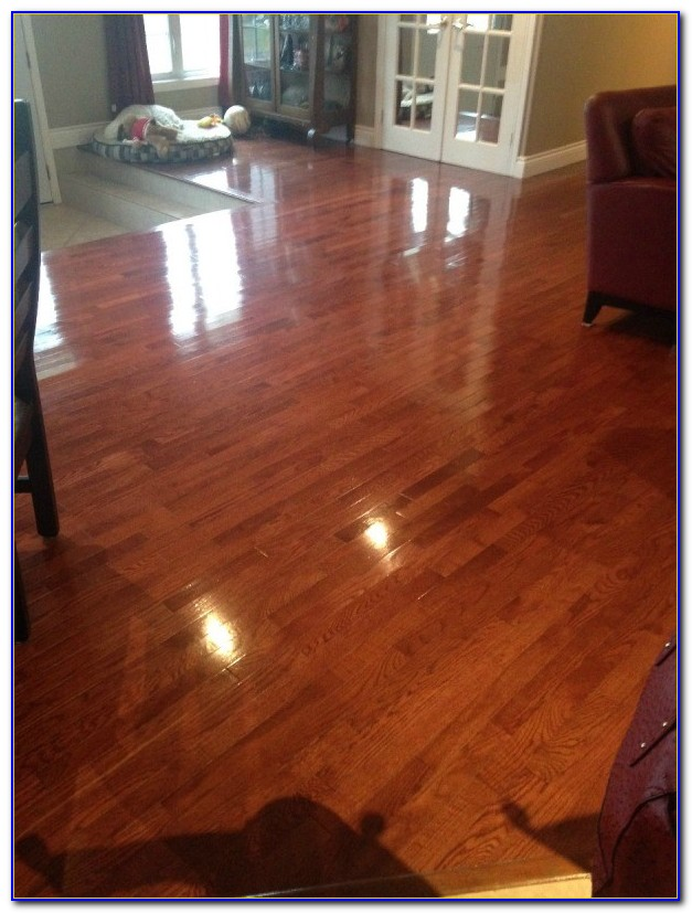 Steam Cleaning Old Wood Floors