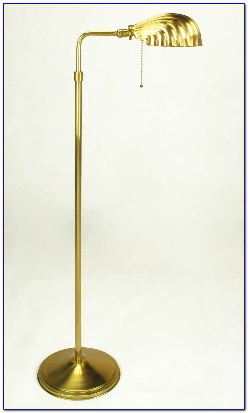 Stiffel Brass Pharmacy Floor Lamp