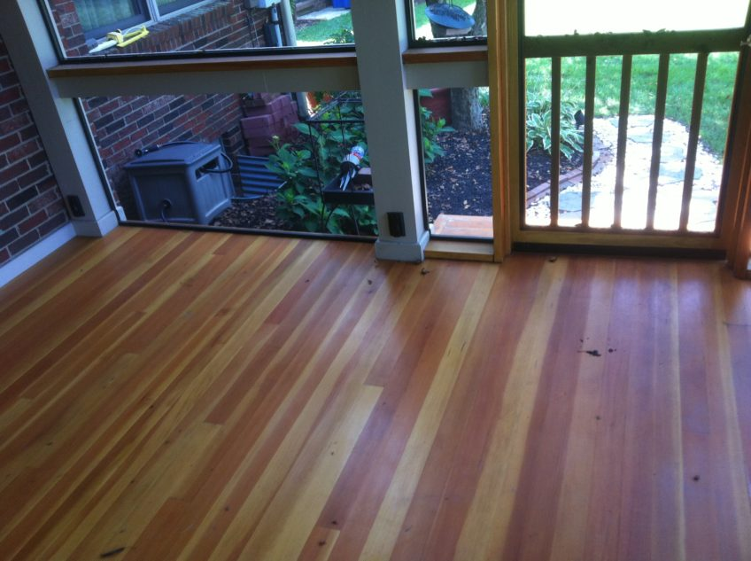 Tongue And Groove Porch Flooring Repair