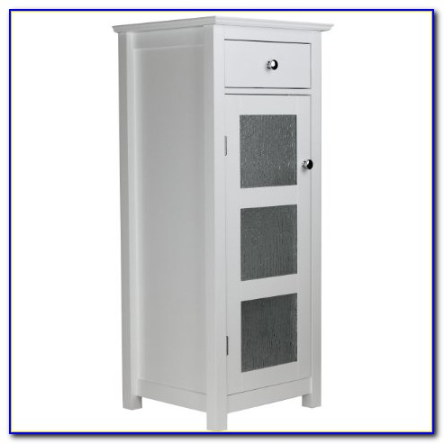 Torino Floor Cabinet With Glass Door