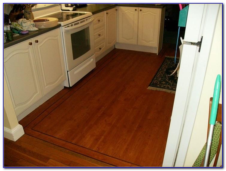 Trafficmaster Glueless Laminate Flooring Benson Oak