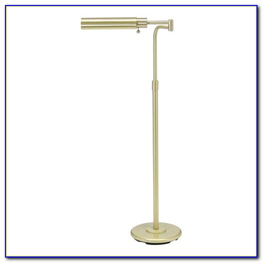 Vintage Brass Pharmacy Floor Lamp
