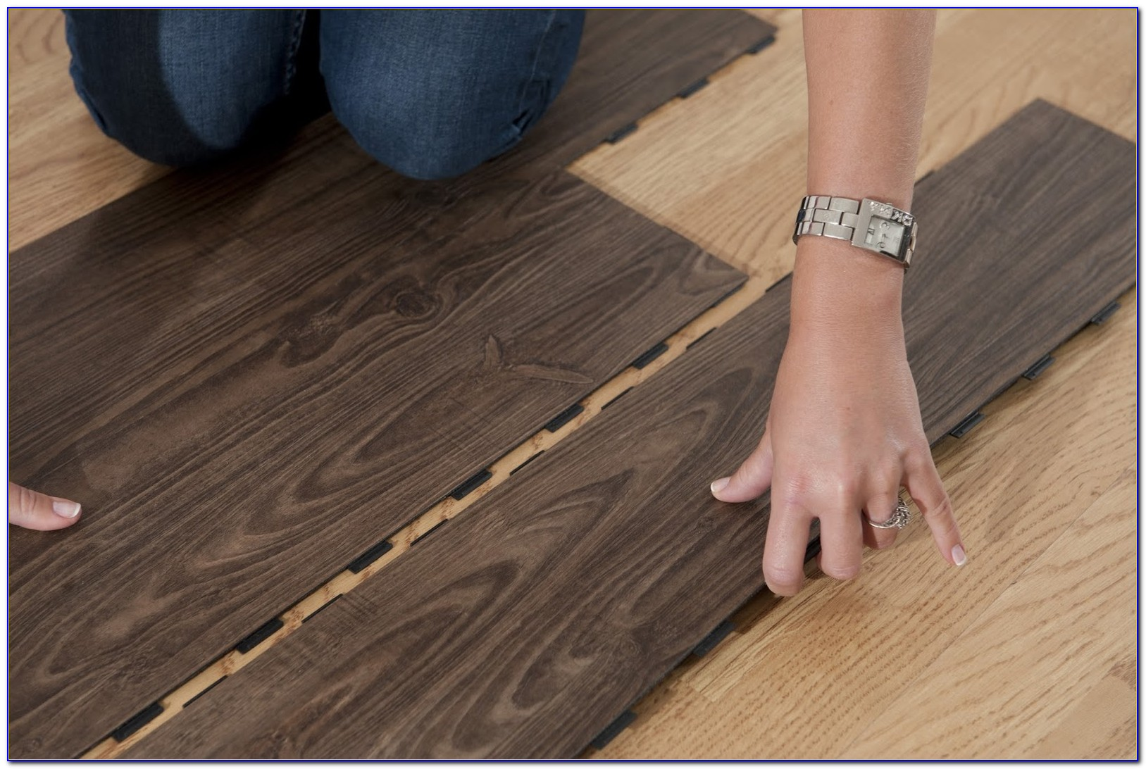 Vinyl Plank Click Flooring Installation