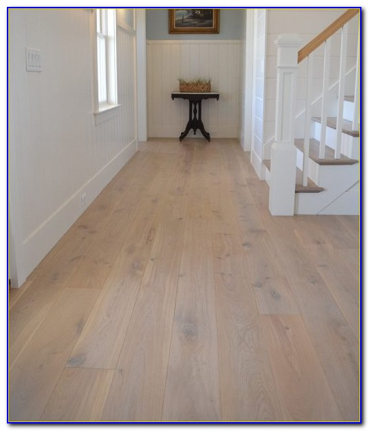 Wide Plank Distressed Engineered Wood Flooring
