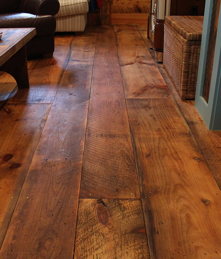 Wide Plank Pine Flooring Canada